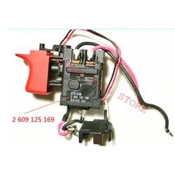 Switch For BOSCH GSB1080-2-LI GSR1080-2-LI GSR1200-2-LI GSB120 GSB120-LI GSR120-LI 2609125169 2 609 125 169