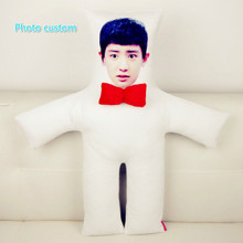Photo customization pillow Personality picture dolls birthday valentines day personality gift Christmas cushion