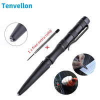 Tenvellon Tactical Pen Self Defense Supplies Simple Package Tungsten Steel Security Protection Personal Defense Tool Defence EDC