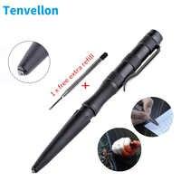 Tenvellon stylo tactique fournitures d'auto-défense emballage Simple acier tungstène Protection de sécurité outil de défense personnelle défense EDC