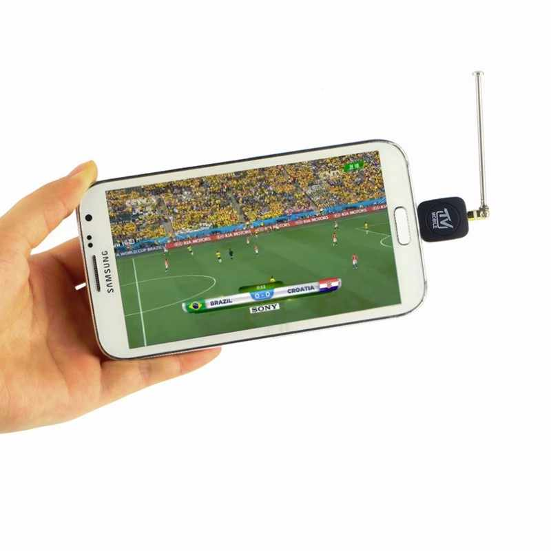 Mini Micro USB Dvb-t Digital TV Tuner Receiver untuk Android 4.1 Di Atas