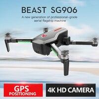 SG906 RC Дрон wit 5 г 4 к wifi камера Дрон с GPS бесщеточный селфи Дрон складной Квадрокоптер с камерой VS SJRC F11 JJRC X9 Дрон
