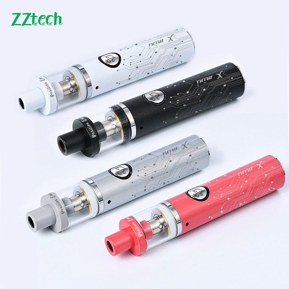 Original ZZtech X mini electronic cigarette vape kit vaporizer 650mah box mod 3.0ml capacity 510 thread large smoking vape pen