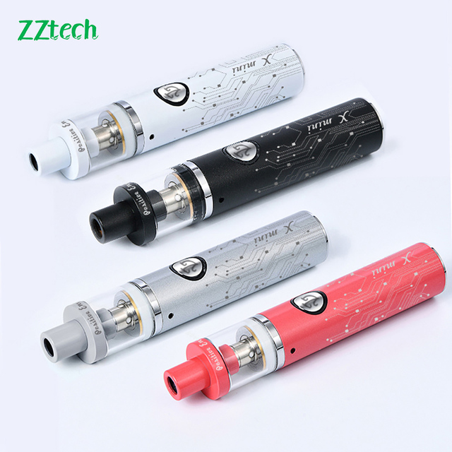 Оригинальный мини вейп комплект электронной сигареты ZZtech X, испаритель 650 мА/ч, боксмод емкостью 3,0 мл, 510 нитей, большой курения вейп ручка