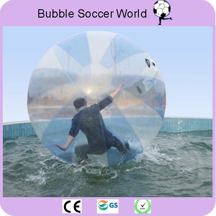 Darmowa wysyłka najwyższej jakości 2 m wody spaceru piłkę Giant kula wodna Zorb piłka balon nadmuchiwane wody Zorb piłka do gry do tańca w Piłki do zabawy od Zabawki i hobby na  Grupa 3