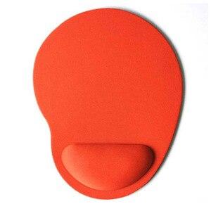 Image 2 - Yuzuoan Горячая комфортная поддержка запястья коврик для мыши оптический трекбол PC утолщенный коврик для мыши Красочные для игры 8 цветов для CSGO DOTA2 LOL