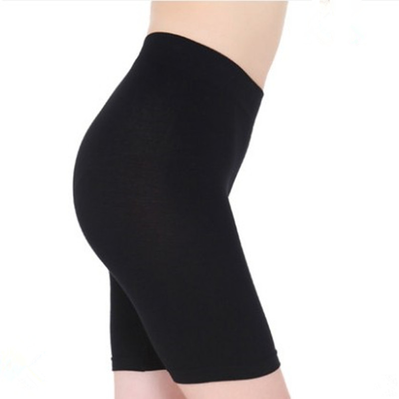 S-3XL Hot Salel Ladies Knee-Length Short Leggings Under Skirts, Comfortable Lightweight Bamboo Underpants for Summer