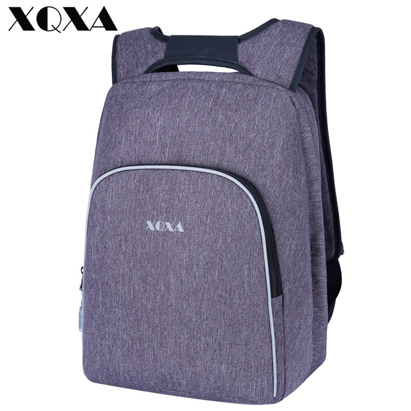 XQXA Brand Women Backpack for Girls Fits 15.6 Inch Laptop Notebook Computer Lager Capacity Business Travel Bag, Gray brand coolbell for macbook pro 15 6 inch laptop business causal backpack travel bag school backpack