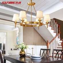 Modern LED Chandelier Lighting Wrought Iron Euro Creative Chandeliers Home Fixture Hanging Lamp For Living Room