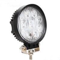 27W LED Work Light Bar 12V Spot Light Bar For Indicators Motorcycle LED Car Foglight For
