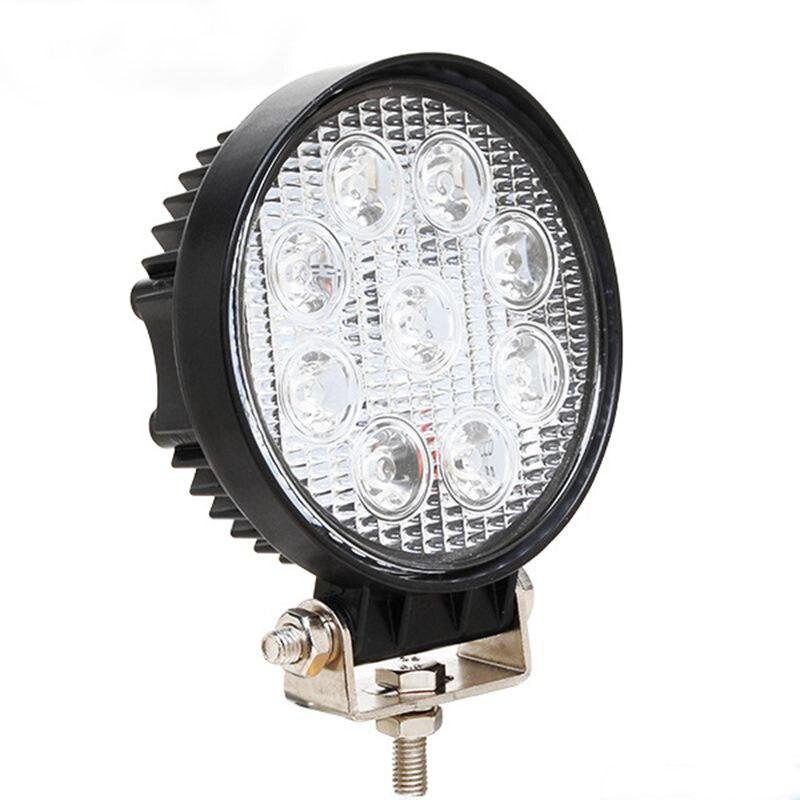 СИД 27w свет работы бар 12 В пятно света бар для индикаторы мотоцикл светодиодные автомобилей foglight для бездорожья для джип БМВ Тойота Фольксваген Фокус