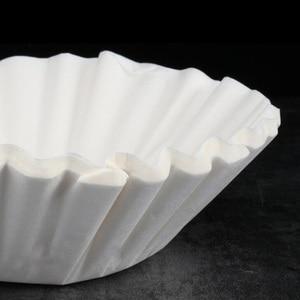 Image 5 - 1000/500 sztuk 12Cup amerykańska kawa bibuła filtracyjna ekspres do kawy wymiana Cafe Coffee Ware do koszyka RH 330
