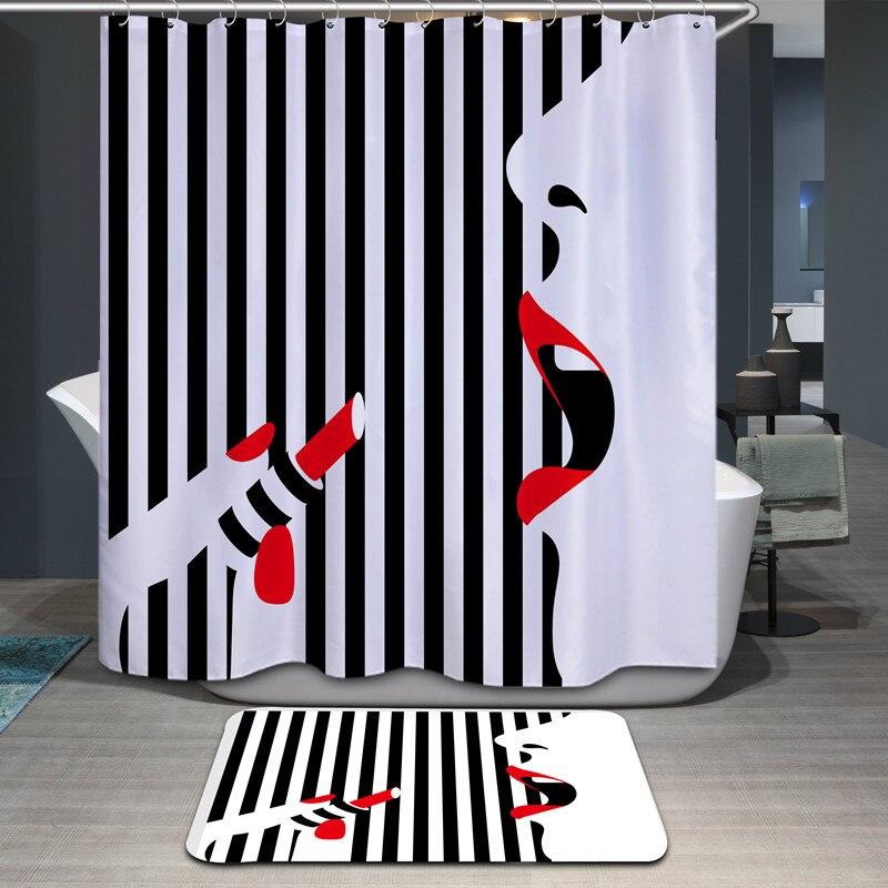 Rideaux de douche de bande dessinée de haute qualité polyester - Marchandises pour la maison - Photo 2