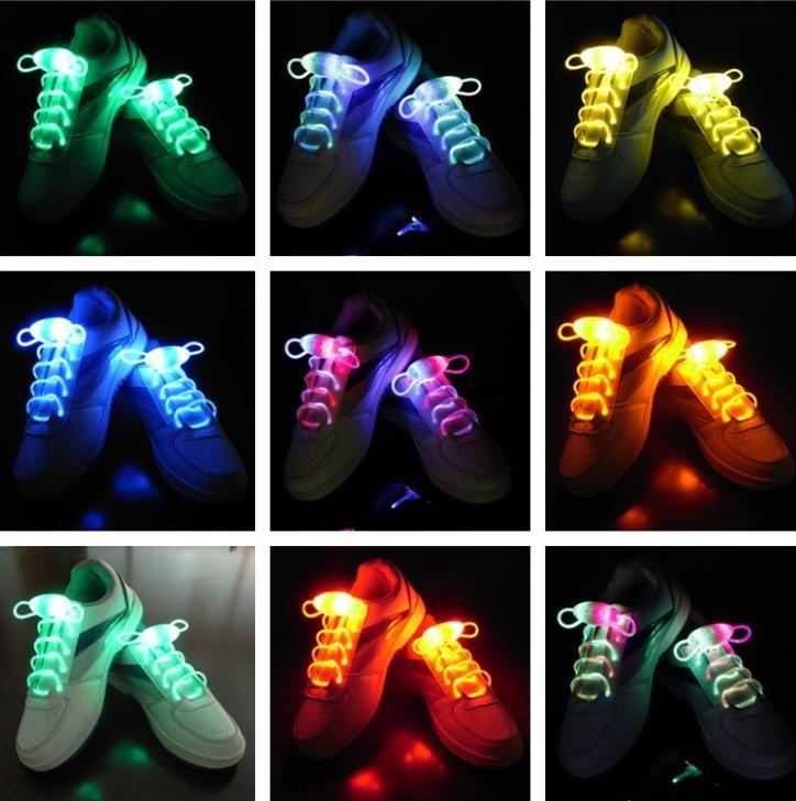 mitad de descuento d6642 c1f2e € 85.01 10% de DESCUENTO|Moda LED flash up Cordones para zapatos glow stick  Correa Cordones para zapatos Xmas decor shoestring disco party patinaje ...