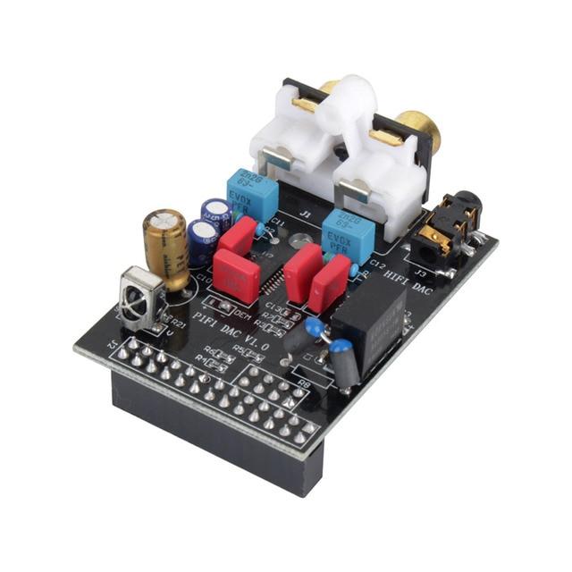 HIFI DAC Audio Sound Card Module I2S interface for Raspberry pi B  Version