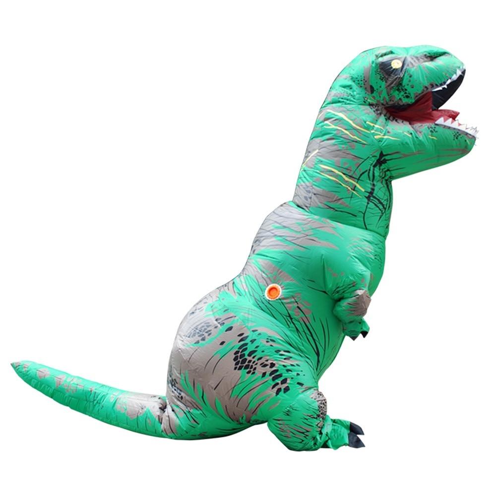 Inflable T-Rex dinosaurio  traje de fiesta juguetes al aire libre juego educativos niños 28
