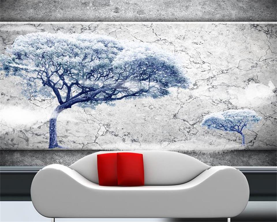 custom 3d photo wallpaper kids room mural big tree marble wall  painting TV background non-woven wallpaper for wall 3d 3d room wallpaper custom mural non woven wall sticker marble soft roll painting photo tv background wall 3d murals wallpaper