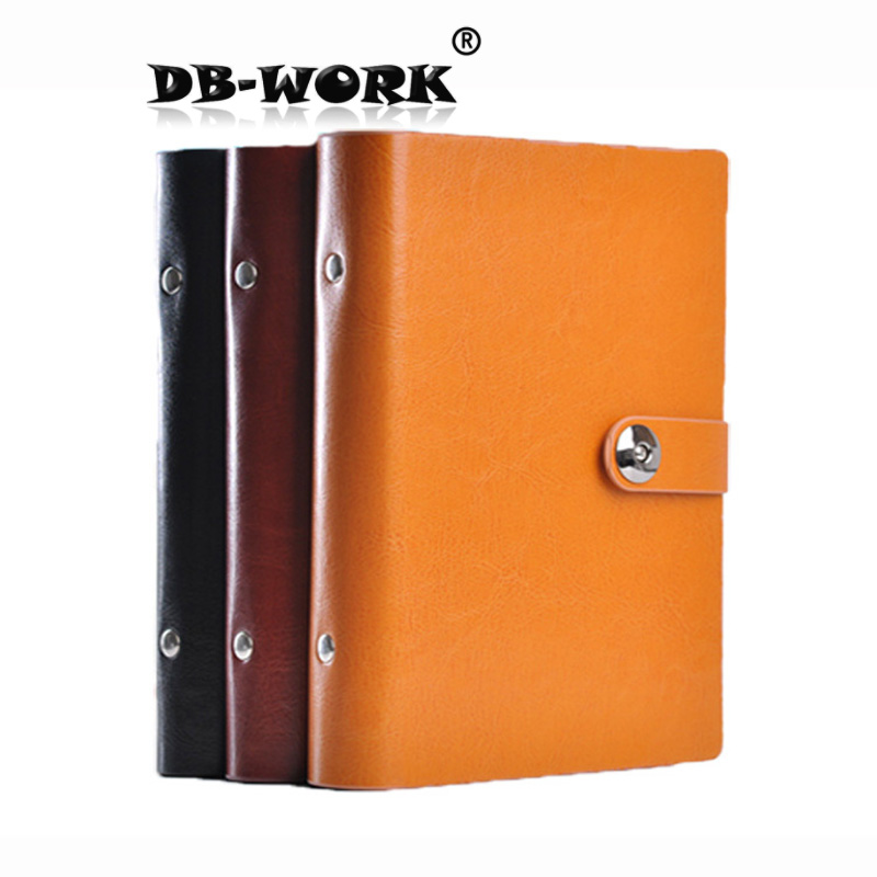Business loose diary a6 classic business fashion creative binder Notebook Leather Notepad brian a mcgrail rebuilding the urban housing question