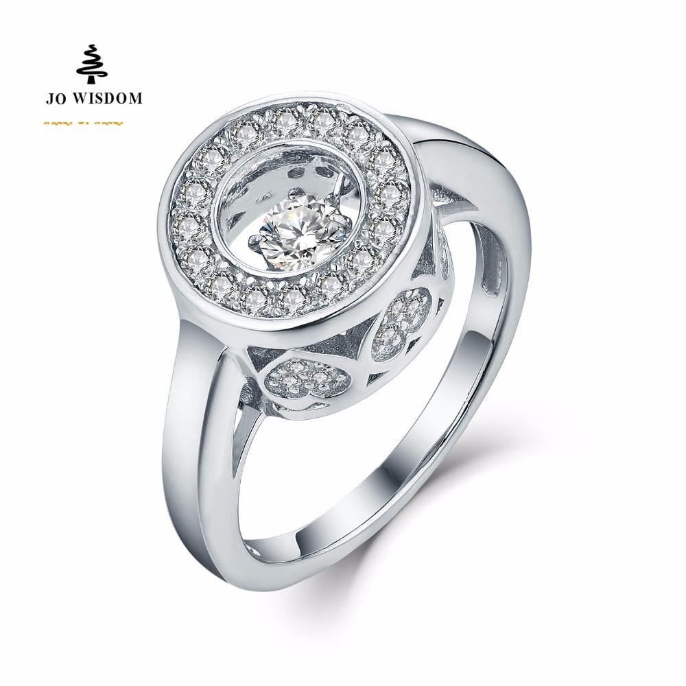 JO WISDOM 2017 Yeni Dizayn Anillos De Plata 925 Sterling Gümüşü - Gözəl zərgərlik