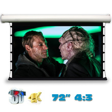 JingKe 3D 4K Electric Tab-Tension Projection Screen 72 inch 4:3 Motorized Projector Screens High quality