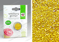 Golden Edible Sprinkles for Cake Decoration,2g Edible Cake Glitter,DIY Fondant Cake Edible Food Color Decoration for Cake Tools