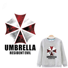 5e87e7f85a7f4 16 23CM Resident evil umbrella Iron On A-level Patches Heat Transfer  Pyrography For DIY T-Shirt Clothing Decoration Printing
