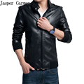 Men Leather Jacket Men Winter Thick Warm Motorcycle pu Jackets 2017 New Mens Winter Casual  Coat parka Size M-4XL 95hfx