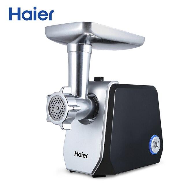 Мясорубка Haier HMG-119 (LED подсветка, алюминиевая чаша, 2.2кг/мин)