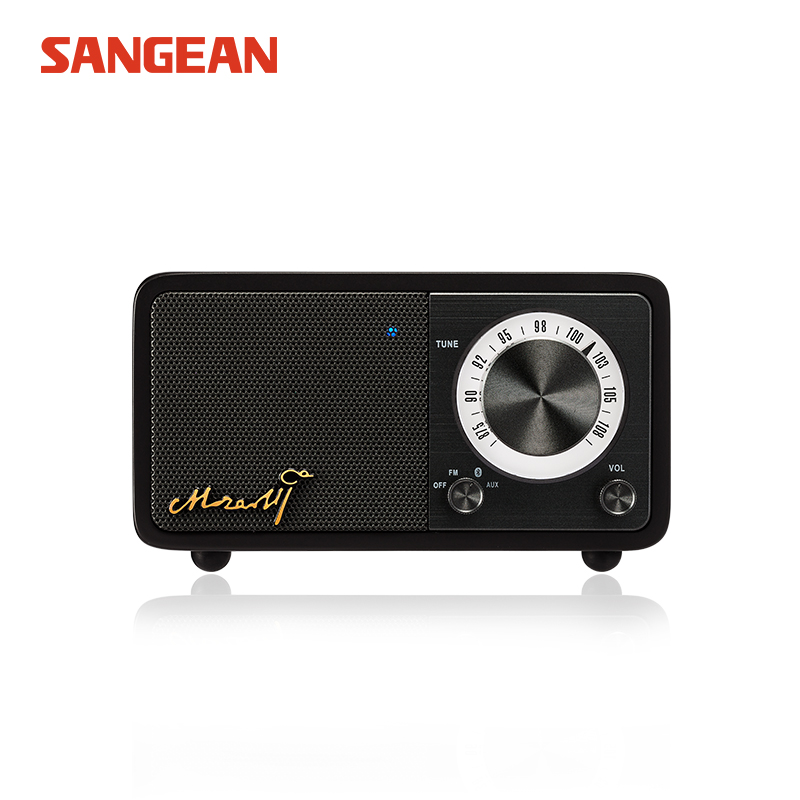 Free shipping Sangean Radio Mozart Bluetooth speaker portable speaker with fm radio sangean fm radio speaker niorfnio portable 0 6w fm transmitter mp3 broadcast radio transmitter for car meeting tour guide y4409b