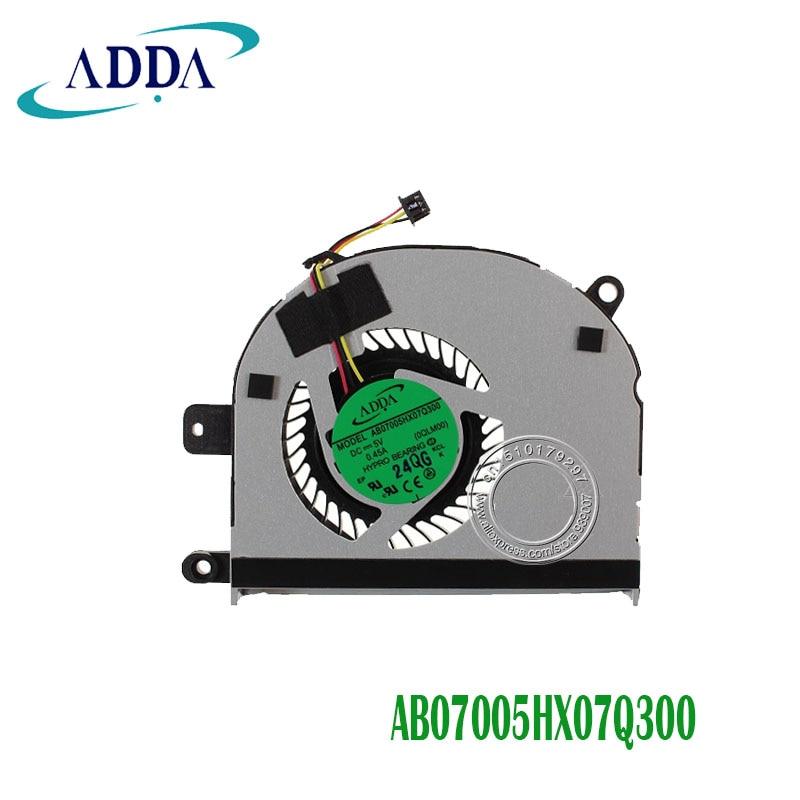 CPU FAN FOR DELL L411Z L421X CPU COOLIN FAN XIDI EG50060V1-C000-G9A AB07005HX07Q300 CN-01H3CJ