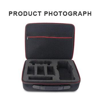 Sac de rangement Portable à bandoulière de voyage sac à main étanche étui de transport pour DJI MAVIC 2 régulateur de Drone d'air boîte de 4 Batteries