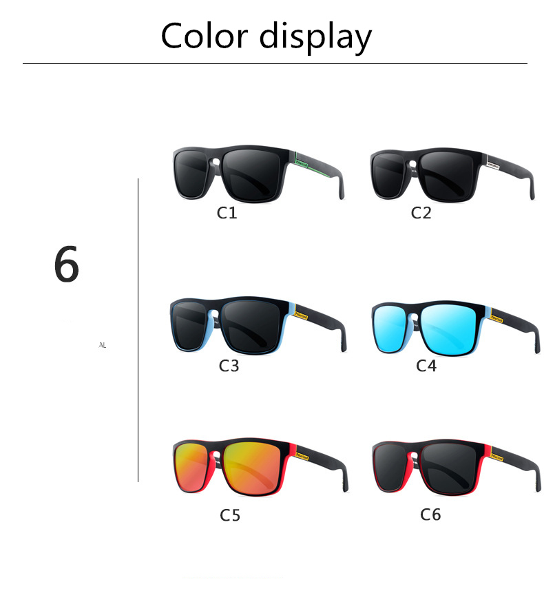 ASUOP 2019 new square polarized ladies sunglasses UV400 fashion men's glasses classic brand designer sports driving sunglasses (9)