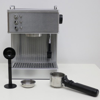 Stainless steel Semi automatic Italian Style 15 bar Cappuccino Espresso Coffee Maker home office Coffee Making Machine 220V/110V