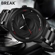 Break Unique Design Photographer Series Men Women Unisex Brand Wristwatches Sports Rubber Quartz Creative Casual Fashion