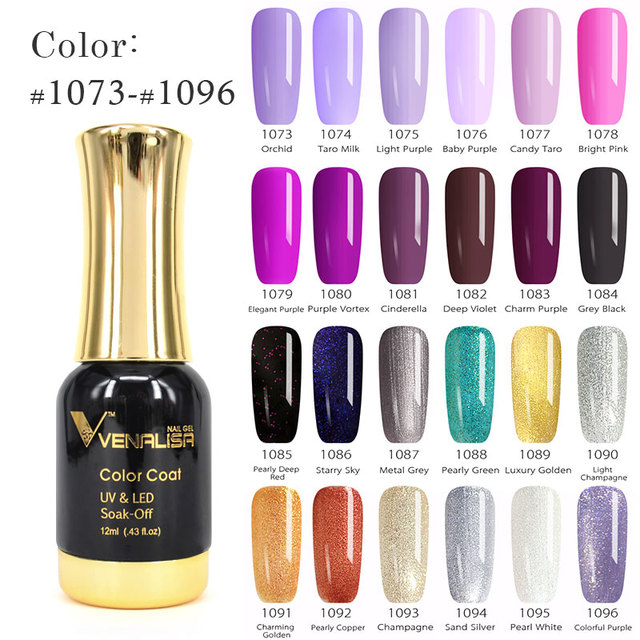 VENALISA One Layer Color Gel Paint 12ml Color Laqcuer CANNI Nail Art Design High Quality Soak off Odorless UV Nail Gel Polish