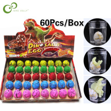 60 шт./кор. Волшебные водянные для выведения, растущее яйцо динозавра игрушки для детей, подарок для детей, развивающие Новинка Забавные игрушки GYH