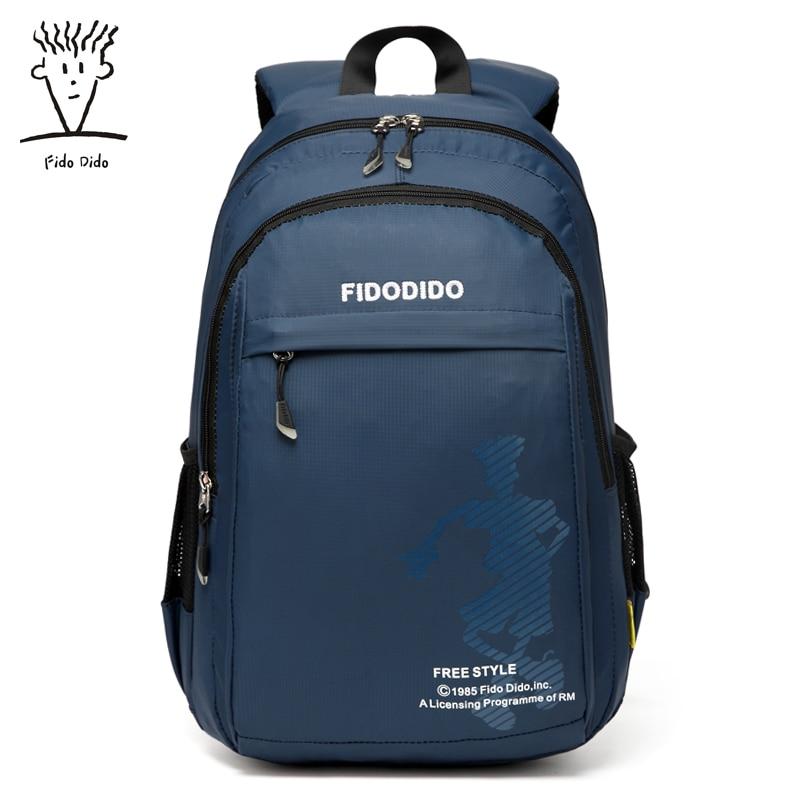 Fido Dido Women Backpacks Women's Nylon Backpacks Female School Shoulder Bags Teenage Girls College Student Casual Bag!! fido
