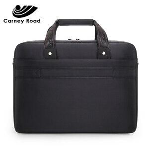 Image 5 - Carneyroad 비즈니스 남성 서류 가방 15.6 인치 노트북 가방 옥스포드 방수 남자 핸드백 캐주얼 메신저 가방 패션 2019
