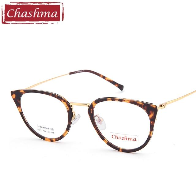 Chashma Brand Top Quality Cat Eye Glasses Women Fashion Small ...