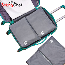 BAKINGCHEF Home Storage Organization Clothes Bag Women's Men's Travel Shirt Pants Preventing Crease Finishing items Accessories