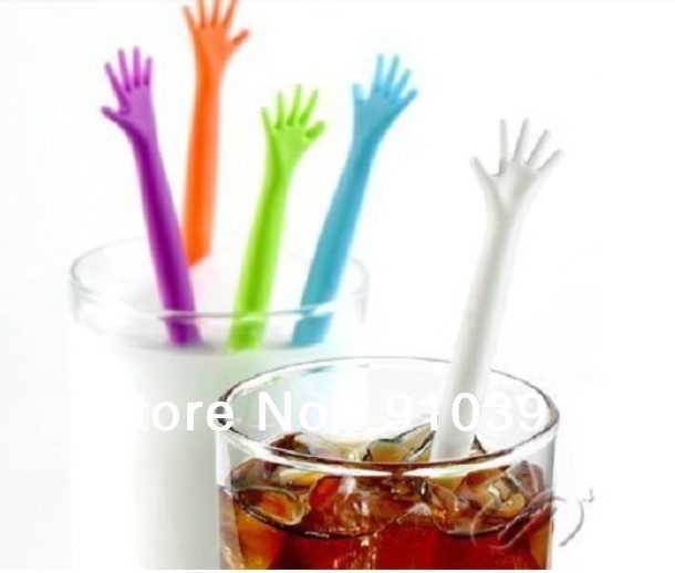 Free shipping candy color HELP ME drink stirrer,coffee muddler,plastic milk stir stick as kitchen bar supply.