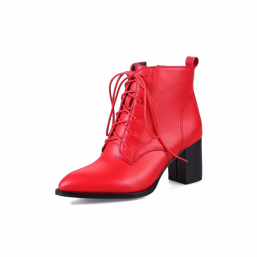 dwayne  new front with large size boots Europe and the United States wind pointed female boots europe and the united states new handsome british wind pointed thick boots snake belt buckle especially exquisite single boot