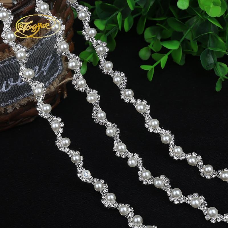 1 Yd legure lanac biser osnovni odjeća ukras ukras srebro ukras DIY - Umjetnost, obrt i šivanje - Foto 4