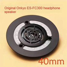 Original Replacement Repair Part 32ohm 40mm Speaker for Onkyo ES FC300 Headphones DIY 40mm Titanium Drivers with Front Shell