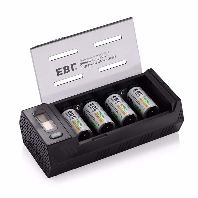 online shop ebl 4pcs lot 5000mah rechargeable batteries batteryebl 4pcs lot 5000mah rechargeable batteries battery charger for aa aaa c d 9v ni