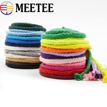 20Meter 5mm Eco-Friendly 100% Cotton Cord High Tenacity Twisted Rope Thread DIY Craft Woven String Ropes Home Decor