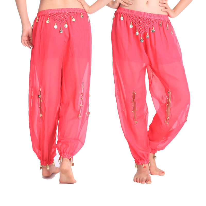 Belly Dance Costume Trousers Cheap Indian Tribal Belly Dance Harem [ants for Women Christmas Loose Trousers10 colors NMMP14