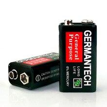 4pcs \JY-FIRE 9V 6F22 Prismatic Batteries Single-use Battery Dry Sex Carbon Zinc
