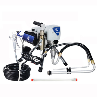 R 518 High Pressure Airless Spraying Machine Professional Airless Spray Gun Airless Paint Sprayer Painting Machine Spraying Tool