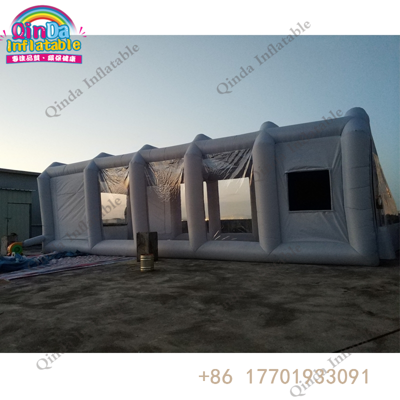 9m*4m*3m Inflatable Paint Booth Gray Portable Spray Booth as Painting Room for sale akg pae5 m